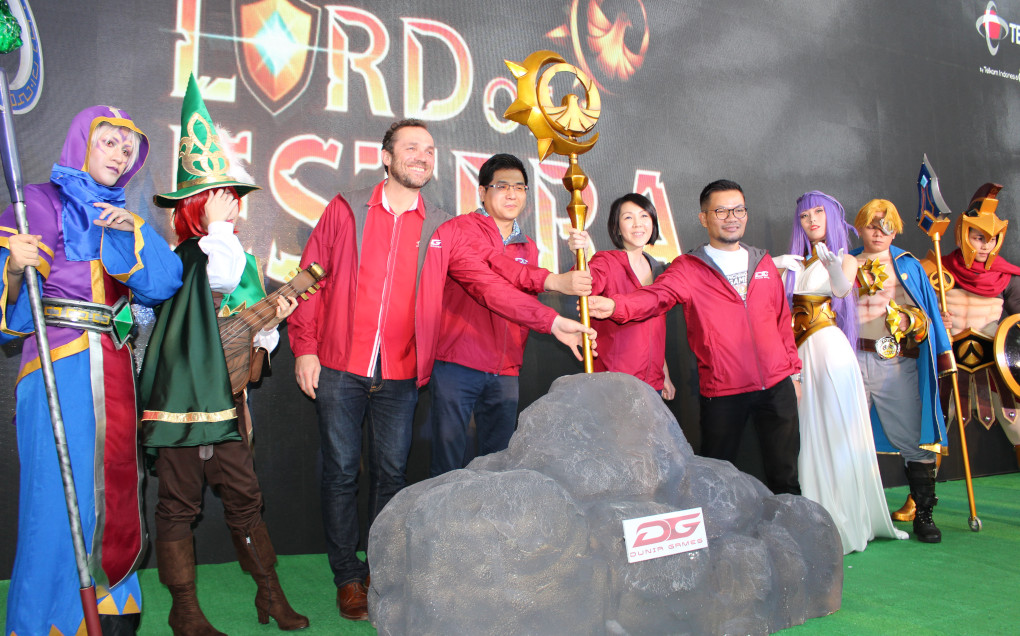 Dunia Games Rilis Game Lord of Estera