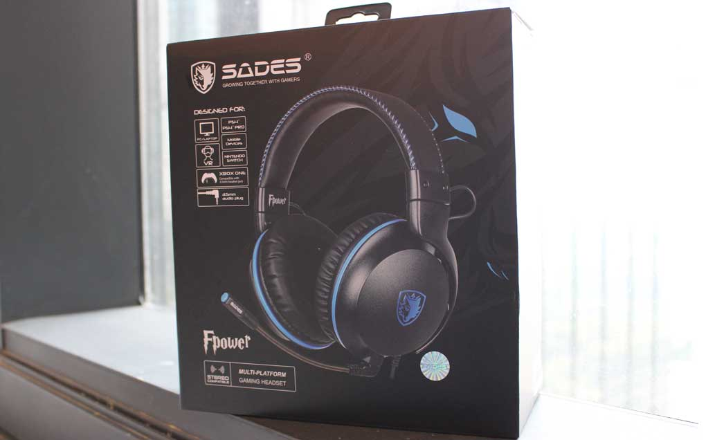 Sades Fpower, Headset Gaming Multiplatform yang Kokoh