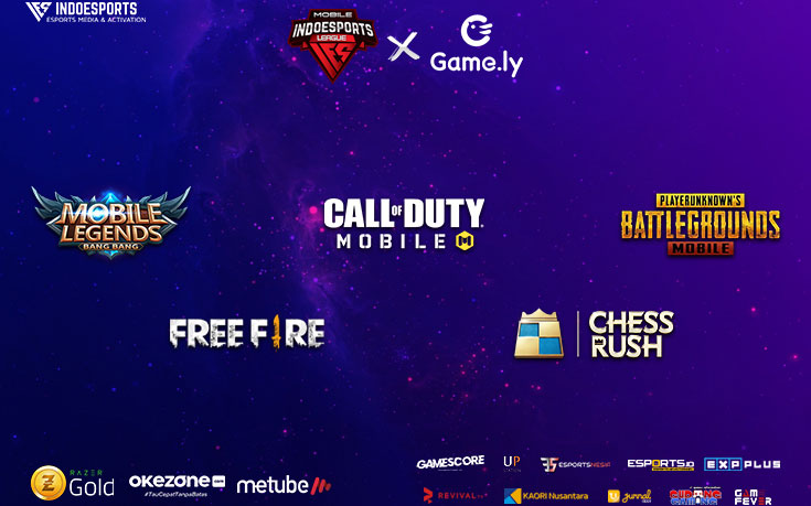 Jadwal Pertandingan INDOESPORTS League Mobile X Game.ly