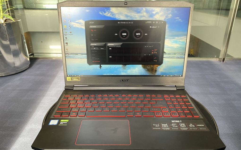 Review Nitro 7, Laptop Gaming Bersuara Canggih