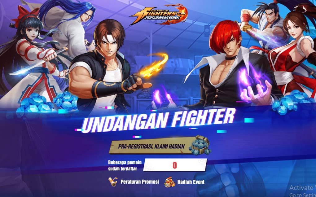 Jadilah Jawara di King of Fighters Allstar Pertarungan Sengit