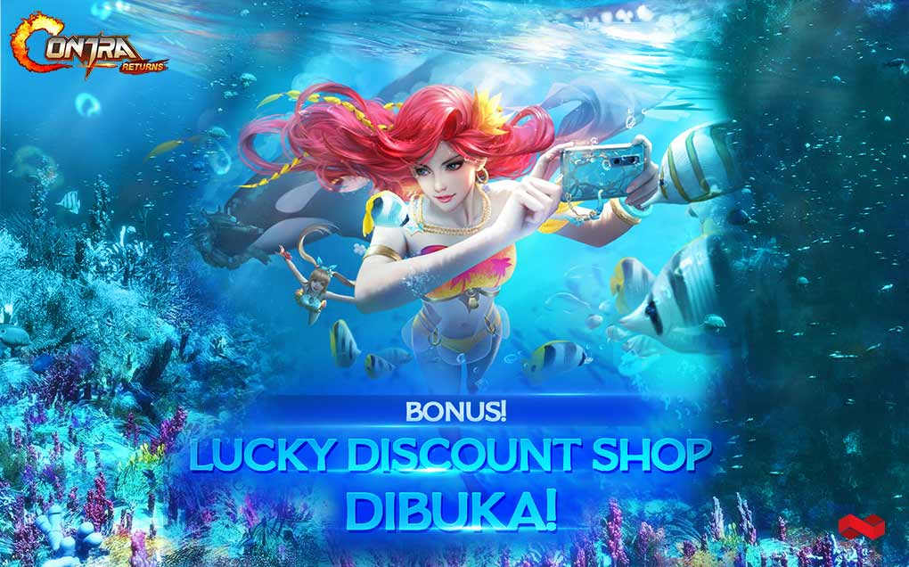 Lucky Discount Shop Contra Return Dibuka, Beli Item Tambah Murah!
