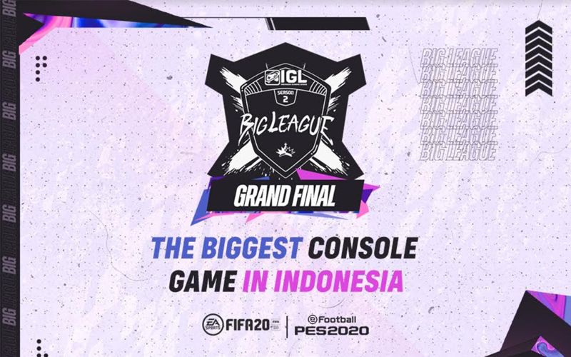 Grand Final IGL 2020: Ajang Pembuktian Top Player di Game FIFA 20 dan Efootball PES