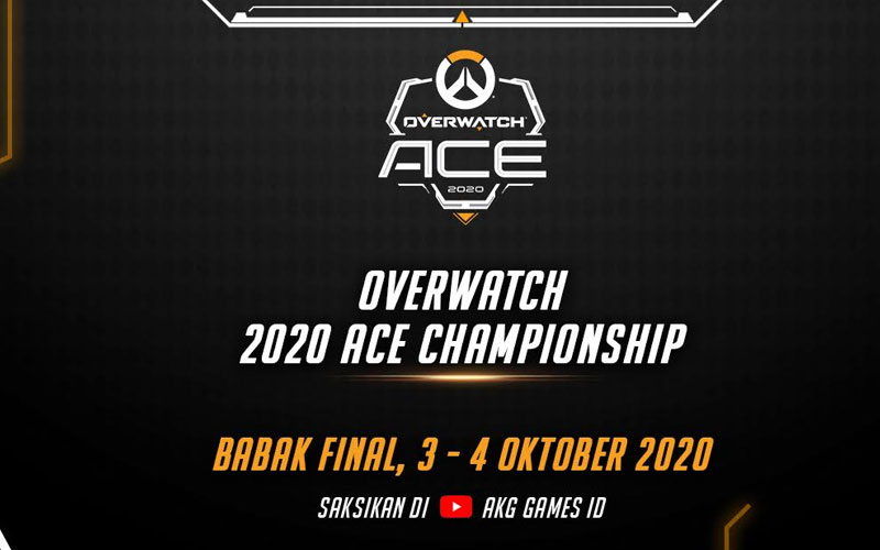 Babak Final Overwatch 2020 ACE Championship Dimulai Weekend Ini