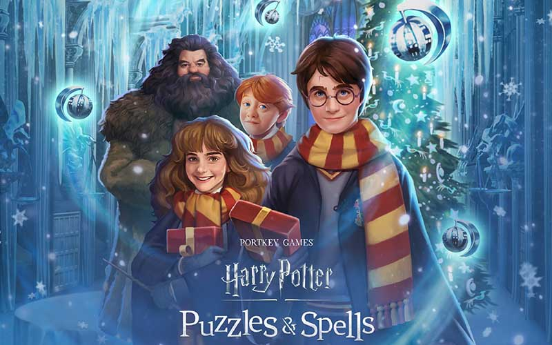 Harry Potter: Puzzles and Spells Adakan Event Bertema Natal