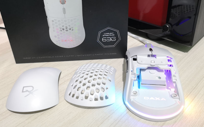 Review Rexus DAXA Air II, Ultralight Gaming Mouse dengan Akurasi Superb
