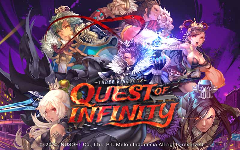 Review Three Kingdoms: Quest of Infinity, Game Bersahabat Para Gamer Mobile