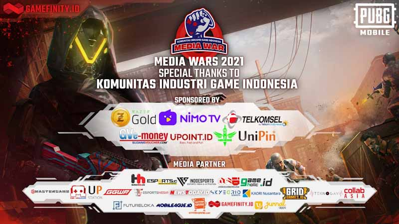 Gamefinity Dipercaya Sebagai Live Streaming Platform Media Wars 3rd Edition