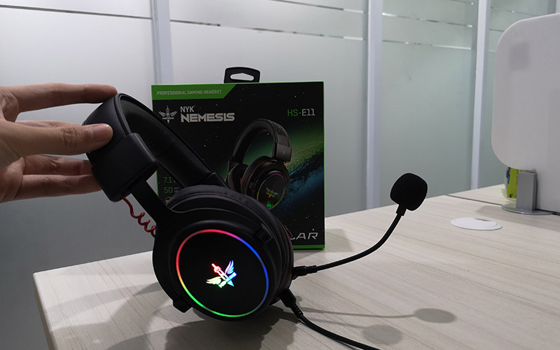 Review NYK Nemesis HS-E11 STELLAR, Headset Gaming Multiplatform 3 in 1