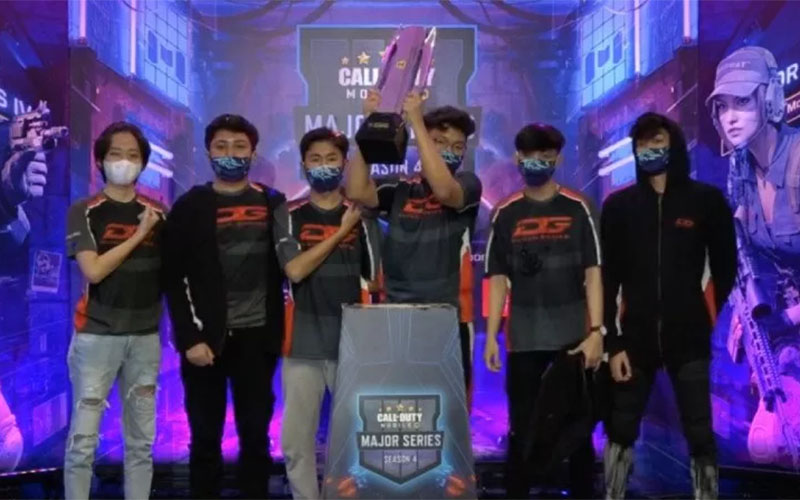 DG Esports Sukses Pertahankan Gelar Juara Call of Duty Mobile Major Series