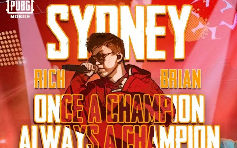 Single Rich Brian, Sydney Jadi Lagu Resmi PUBG Mobile Pro League Season 3