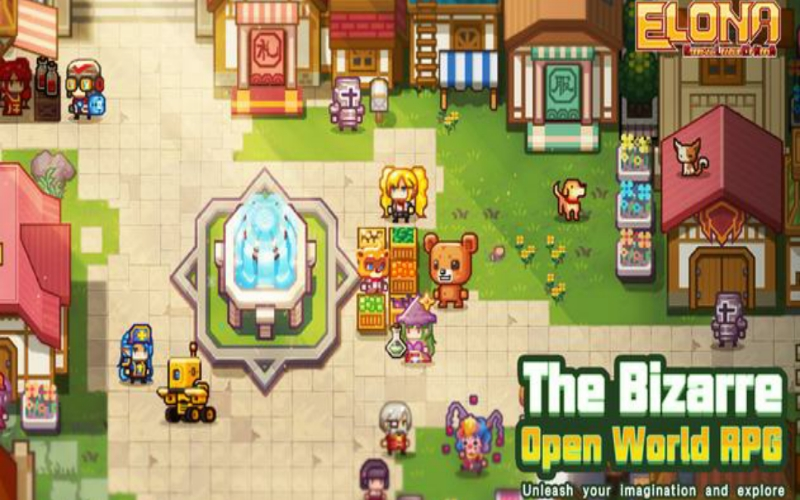 Elona Mobile Game Pixel RPG Open World Pertama di Android?
